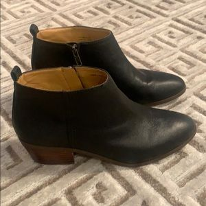 J Crew leather booties size 7.5